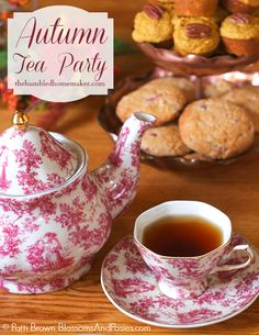 Hosting an Autumn Tea Party (plus a recipe for gluten free apple cake!) - The Humbled Homemaker