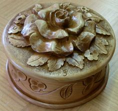 Art Carved, Small Rose, Woodcarving, The Fool, Wood Art, Floral, Inspiration, Wood, Acanthus
