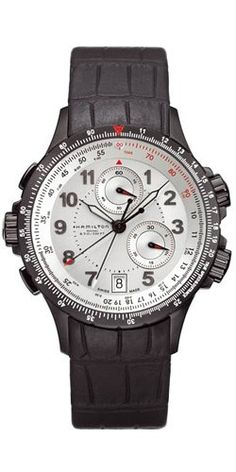 Men's Wrist Watches - Hamilton Mens H77682313 Khaki Eto Silver Dial Watch >>> Continue to the product at the image link.