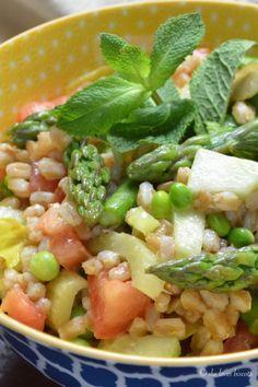 Farro salad and Salads on Pinterest