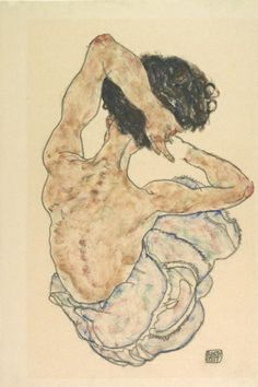 Artelema is raising funds for Make 100 - Egon Schiele, limited edition on Kickstarter! For the anniversary of this famous Seated Nude by Egon Schiele, a deluxe limited edition print. Figure Painting, Figure Drawing, Painting & Drawing, Gustav Klimt, Egon Schiele Zeichnungen, Egon Schiele Drawings, A Level Art, Life Drawing, Drawing Hands