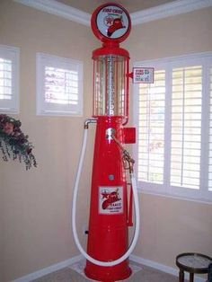 texico visable gas pump | Finished G&B 176Texaco Fire Chief