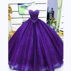 Beautiful purple dress