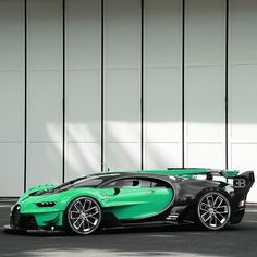 Bugatti Vision GT color change! • Follow @StickerCity • • Designer car wraps • • Self healing clear bra • • www.stickercity.com • _____________________________ • Photo by: @bugatti