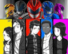 Power Rangers Movie 2017, Power Rangers Fan Art, Power Ragers, Anime Lineart, Tv Themes, Mighty Morphin Power Rangers, Animation Reference, Geek Culture, A Team