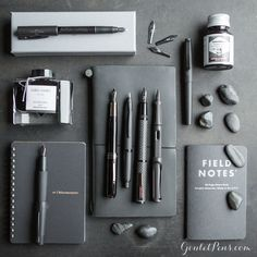 Looking to add some daring mystique to your assortment of fountain pens? Have a look at Thursday Things: Pitch Black, the collection of all things dark and deep to suit any writing situation.