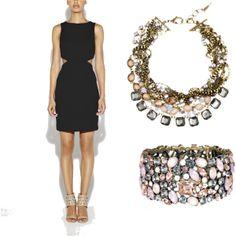 """Little Black Dress"" with Chloe + Isabel pieces. Find here: https://www.chloeandisabel.com/boutique/emilyryan"