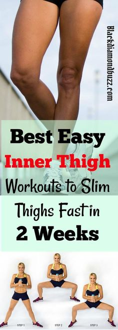 Inner Thigh Workouts to Slim Thighs Fast in 2 Weeks
