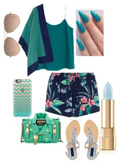 """Blue Day"" by areign ❤ liked on Polyvore"