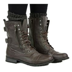 Ladies Worker Army Flat Lace Up Biker Style Military Shoes Ankle Boots. want these!!