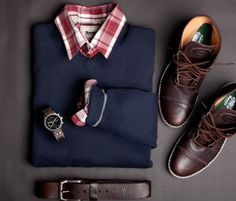The Modern Gentleman: Red plaid