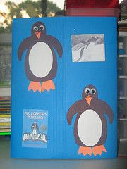 Mr. Poppers Penguins lapbook plus a link to sooo many more lapbooks!