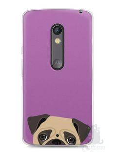 Capa Capinha Moto X Play Cachorro Pug