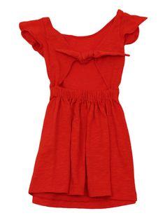 Girls Tie Back Dress by Eggi Kids on Gilt.com