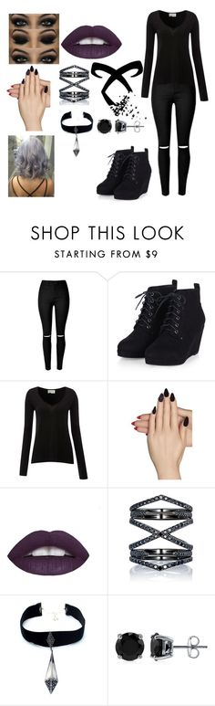 """New Shadowhunter in town"" by elvira-marie-hernandez on Polyvore featuring American Vintage, Static Nails, Eva Fehren, Child Of Wild, BERRICLE, women's clothing, women, female, woman and misses"