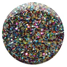 #77 Bling It On:  A rainbow of sparkles makes every moment a grand finale. A new gel nail polish color for the brazen and intrepid. After all, glitter is a girl's best friend!  #nail #gelnailpolish