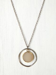Free People Stone Target Necklace, AU72.38