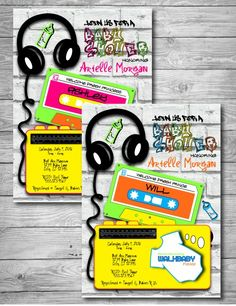 Prince themed Baby Shower Invitations Unique 90 S Fresh Prince Princess Hip Hop theme Baby Shower Printable Baby Shower Invitations, Baby Shower Invites For Girl, Baby Shower Cards, Baby Shower Parties, Baby Shower Themes, Baby Boy Shower, Baby Showers, Royal Baby Boys, Shabby Chic Baby Shower