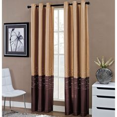 jcpenney - Horizon Grommet-Top Curtain Panel - jcpenney