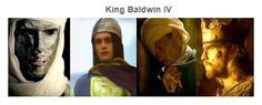 Balduíno IV representado em alguns documentários para a televisão.