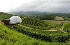Ceretto Winery Monsordo Bernardina, Alba, Piedmont, Italy - 15 Architectural Masterpieces of the Wine World