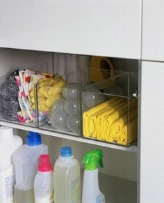 under kitchen sink storage by ashleyw