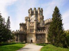 Castillo Butrón en Gatika, Bizkaia
