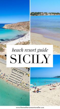 Where to Stay in Sicily: Ultimate Beach Resort   Hotel Guide. Heading to Sicily this year for some summer sun? Here's a beach-lover's guide to where to stay on the island of Sicily - including the best places for sandy beaches, a complete resort guide, and the best beach hotels. #italy #sicily #europe #travel #beach #mediterranean #tmtb Italy Travel Tips, Spain Travel, Travel Destinations, Sicily Travel, Mexico Travel, Beach Trip, Hawaii Beach, Oahu Hawaii, Beach Travel
