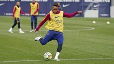 Entrenamiento (08/04/16) | FC Barcelona