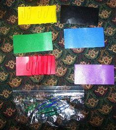 Paper Clip Colors