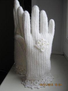 Перчатки Белые - Ярмарка Мастеров - ручная работа, handmade