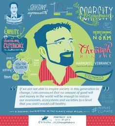 Christoph Hinske (Harmonic Vibrancy and Ecosynomics, The Science of Abundance) – ChangeMaker Portrait CC-BY-SA Ottilie.cc – #PeoplesClimate ClimateWeek 09/2014