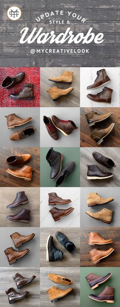 Boot Collection by MyCreativeLook Mens Boots Fashion, Fashion Outfits, Stylish Men, Men Casual, Shoe Boots, Men's Boots, Men Style Tips, Dress Shoes, Menswear