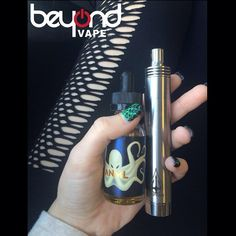 The Neptune V2 in Stainless Steel and Looper from @anmlvapors!