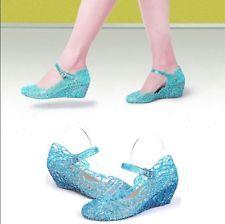 cfa75a2498a frozen elsa high heels shoes for girls kids real glass - Google Search  https