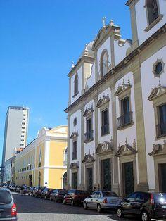 Igreja Madre de Deus e Livraria Cultura no Recife Antigo. Recife is old , Recife is new ... - Recife, Pernambuco