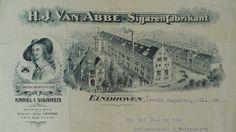 1919 Karel 1 fabriek van Henri van Abbe. Vóór de Tweede Wereldoorlog de op een na grootste werkgever in Eindhoven.
