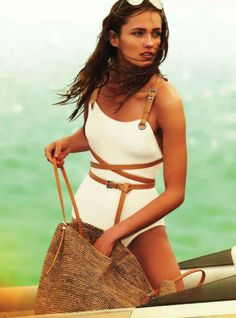 michael kors bathing suit MUST have OMG sooo classic yet sexy love it.