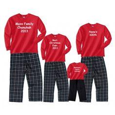 95e2483900 24 Best Personalized Christmas Pajamas   Clothing sets images ...