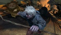 〈Rise of the Guardians〉 concept art - Sandy and Jack