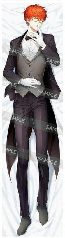 I'm actually disappointed in this. Body pillow, it's not that sexy and needs less clothes. The Jumin one is good but could use less clothes too