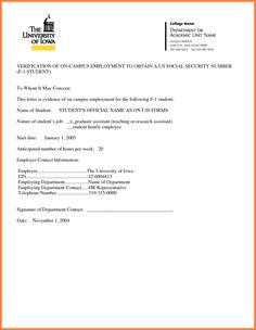 Certification Letter Request Verification For Certificate