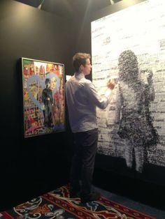 Client: Start Dubai Live art exhibition - #graffiti