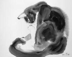 "Saatchi Art Artist Agnes Bodor; Painting, ""Grooming Bubi"" #art"