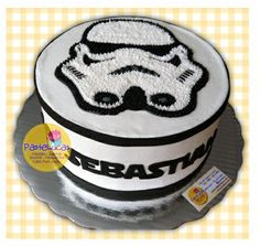 Stormtrooper's cake