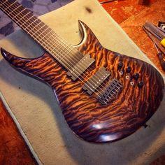 8 String Guitar - Custom Guitar