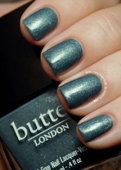 Butter London in Victoriana - This is the best to use after you get rid of gel nails when your nails are paper thin.