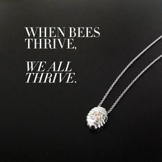 Here's the buzz: September is #NationalHoneyMonth! Sweeten your life with a #LimitedEdition Little Beehive in Platinum and benefit the HaagenDazs® loves Honey Bees program to help save the honey bees. #alexwoo #littleicons #madeinNY #platinum #beehive #tuesdaytruth