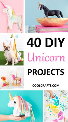 40 Majestic DIY Unicorn Craft Ideas | Coolcrafts.com