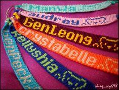 friendship-bracelets.net  Letters